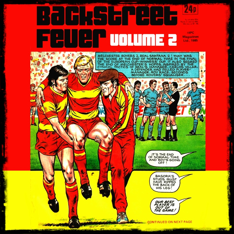 BACKSTREET FEVER 2 Front Cover